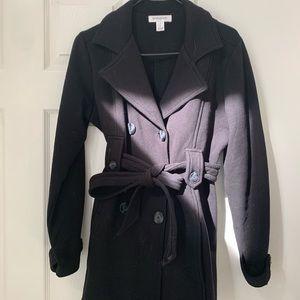 Maternity pea coat